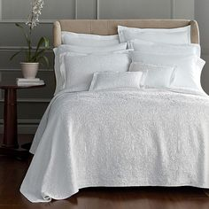 oatmeal linen drop ruffle skirted bedspread/bed skirt/bed spread