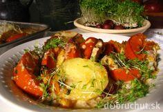 Jesenný eintopf s tekvicou Hokkaido Baked Potato, Potatoes, Meat, Chicken, Baking, Ethnic Recipes, Food, Hokkaido, Stew