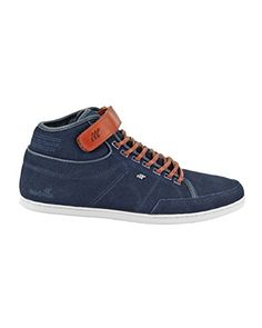 Cheam SH Rip NYL/SDE, Baskets Basses Homme, Gris-Grau (Steel Grey/Maroon), 42 EUBoxfresh