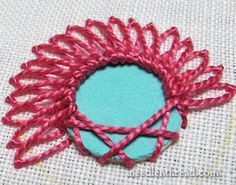 Shisha Embroidery Stitch Variation 3
