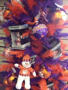 Clemson Christmas tree!