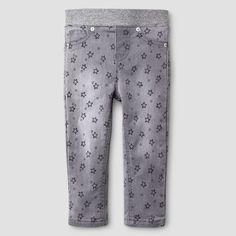 Baby Girls' Skinny Jeans - Gray Wash 1