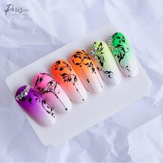 Login – Apocalypse Now And Then Swirl Nail Art, Neon Nail Art, Neon Nails, Pink Nails, Dream Nails, Love Nails, Pretty Nails, My Nails, Nail Art Designs