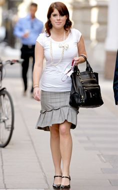 Princess Eugenie of York from Fashion Spotlight: Stylish Royals!  Prince…