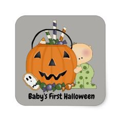 baby's first halloween messages
