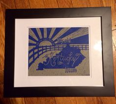 My Old Kentucky Home Print on Etsy, $15.00