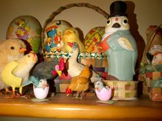 More of my vintage Easter collection.