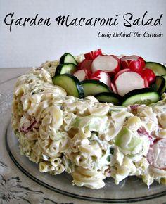 Garden Macaroni Salad Recipe