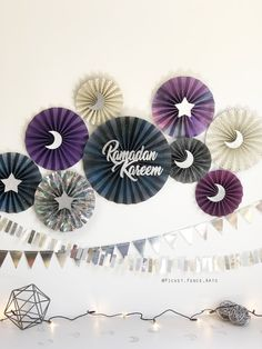 Excited to share this item from my shop: Purple and Silver Ramadan Decor, Ramadan Decora. Ramadan Diy, Mubarak Ramadan, Ramadan Crafts, Hajj Mubarak, Iftar, Eid Crafts, Paper Crafts, Decoraciones Ramadan, Weave Ponytail Hairstyles