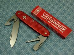 Discontinued Victorinox Pioneer Red Alox Swiss Army Knife | eBay