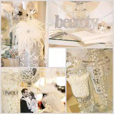 Clinque Bridal Candy Cart