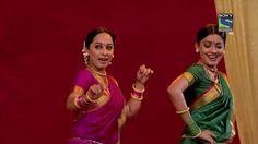CID: Purvi and Shreya as Village Dancers.