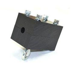 Brake Block w/Hardware & Backup Sling Bungee Cord, Ninja Warrior, Plastic Design, Recycling, Hardware, Zip, Computer Hardware, Upcycle, Ninja