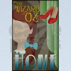 This art deco inspired poster design featuring Dorothy from the classic movie, The Wizard of Oz, makes a perfect addition to any fans collection. Collect all 4 main characters.