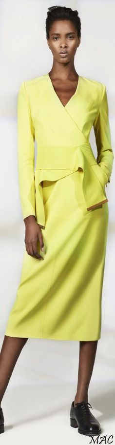 @roressclothes closet ideas #women fashion outfit #clothing style apparel yellow suit