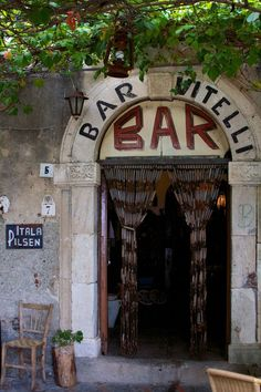 barvitelli -- a location for The Godfather..If you're ever in Sicily, you can find it at Piazza Fossia 7, Savoca.