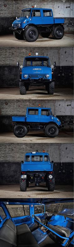 """ALL NEW """" 2017 MERCEDES-BENZ UNIMOG 406"""", 2017 Concept Car Photos and Images, 2017 Cars"""