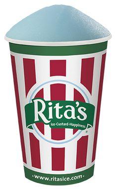 Rita's Cotton Candy Flavored Italian Ice