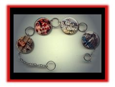 King Arthur CAMELOT Altered Art Button Charm Bracelet with Rhinestone by Yesware on Etsy https://www.etsy.com/listing/113113363/king-arthur-camelot-altered-art-button