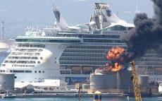 Cruise Ship Fire Aboard Vincenzo Florio May While The - Princess cruise ship fire