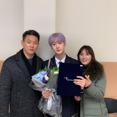 SanHa, dad and Mom