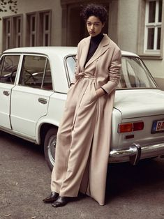 Fashion_soft fluid tailoring emerges as formal becomes informal & feminine | Saved by Gabby Fincham |