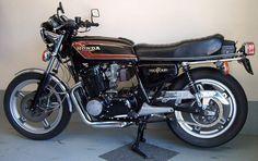 Honda CB 750 Four F2 G Supersport 1978 Seitendeckel links left side cover