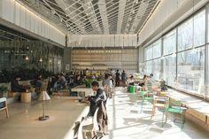 [삼성역 카페] SAPOON SAPOON 사푼사푼 (by 정관장) : 네이버 블로그 Commercial Interior Design, Commercial Interiors, Street View