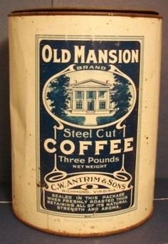 Old Mansion Brand Steel Cut Coffee