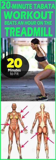 Just 20 minutes to a full-body burn—no equipment necessary.
