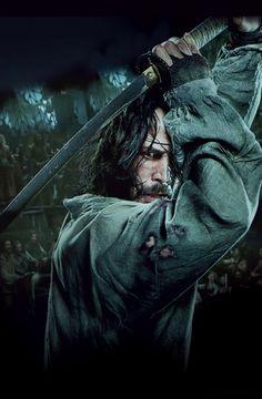 Keanu Reeves in 47 Ronin. So sassy. Keanu Reeves 47 Ronin, Keanu Reeves John Wick, Keanu Charles Reeves, Tattoos Motive, Bild Tattoos, Ronin Samurai, Samurai Art, 47 Ronin Movie, I Movie