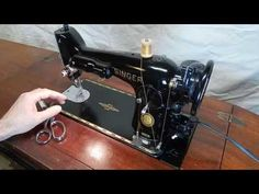 Singer Demonstration to show full function and condition Sewing Hacks, Sewing Projects, Sewing Tips, Relaxing Gif, Featherweight Sewing Machine, Asmr Video, Antique Sewing Machines, Best Oils, Sewing Stitches