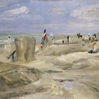 Max Liebermann, Strand bij Noordwijk