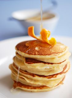 orange ricotta hotcakes
