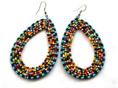 African jewelry African earrings Maasai jewelry Maasai earrings tribal earrings tribal jewelry boho jewelry zulu jewelry ethnic jewellery