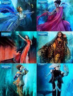 We are the mermaids of Jennifer Donnelly's 'WaterFire Saga' Serafina Neela Ling Ava Becca Astrid〽️