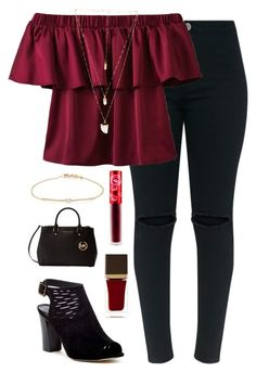Untitled #362 by prettyunique10 on Polyvore featuring Madden Girl, Michael Kors, Tate, Natalie B, Lime Crime and Tom Ford