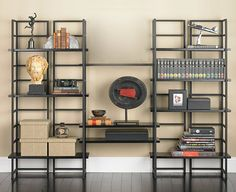 The Container Store > Shelving >Ebony Connections® Library Shelving