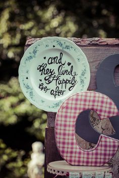 Drifted Wood Vintage Wedding Cake Stand
