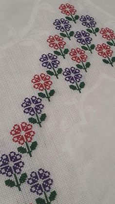 Cross Stitch Borders, Cross Stitch Designs, Cross Stitching, Cross Stitch Embroidery, Cross Stitch Patterns, Baby Knitting Patterns, Needlework, Alphabet, Crochet