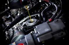 Engine oil is what lubricates a car's engine, allowing it to run smoothly and last longer.Car owners must maintain a car's engine by changing the oil and using the oil appropriate for their cars make and model.