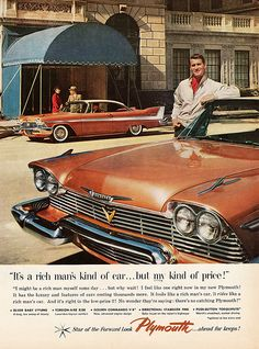 """It's a rich man's car, but MY kind of price!"": 1958 Plymouth Belvedere 2-Door Hardtop"