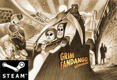Grim Fandango Remastered, Steam, PC, Linux, Mac, Downloadversion