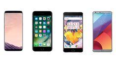 #SamsungGalaxyS8 vs #iPhone7Plus vs #LGG6 vs #OnePlus3T