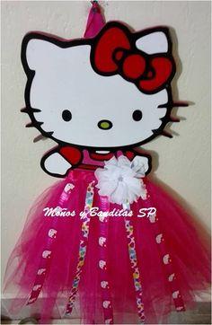 Hair Clip Organizer, Hello Kitty, Ribbon Hair Bows, Felt Dolls, Ideas Para, Hair Clips, Christmas Decorations, Pink, Fashion
