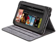 """AmazonBasics - Funda de cuero con soporte ajustable para Kindle Fire de 7"""" y Samsung Galaxy Tab 7.0, color negro B005VTGCE8 - http://www.comprartabletas.es/amazonbasics-funda-de-cuero-con-soporte-ajustable-para-kindle-fire-de-7-y-samsung-galaxy-tab-7-0-color-negro-b005vtgce8.html"""