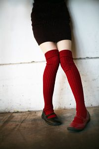 Fabulous ribbed, tall wool socks with thick cable cuffs. They're beautiful, classic and sweater sock cozy! We love their traditional looks as much as we love how warm they are. Wool Socks, My Socks, Smaller Thighs, Feminine Tomboy, Over Knee Socks, Calf Length Skirts, Colorful Shoes, Head And Neck, Personal Style