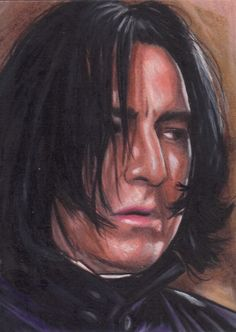 "severus-snape-my-eternal-prince: "" Artwork by Javier Gonzalez. """