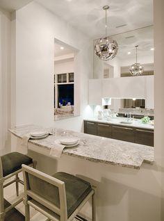 "Kitchen in Divco Custom Homes ""Antigua"" model in Miromar Lakes. Divco Homes | Naples, FL | Divcohomes.com"