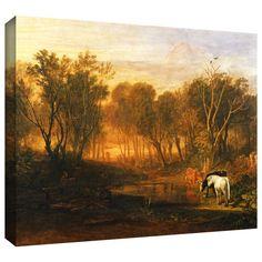 <li>Artist: William Turner</li> <li>Title: The Forest of Bere</li> <li>Product type: Gallery-wrapped canvas</li>